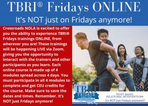 Register for TRBI Fridays